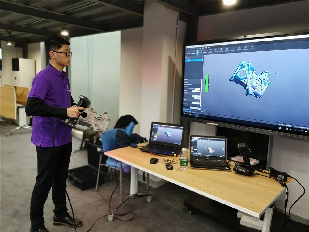 【創贏未來】宗毅老師點讚的3D掃描創業項目再次來到裂變學院